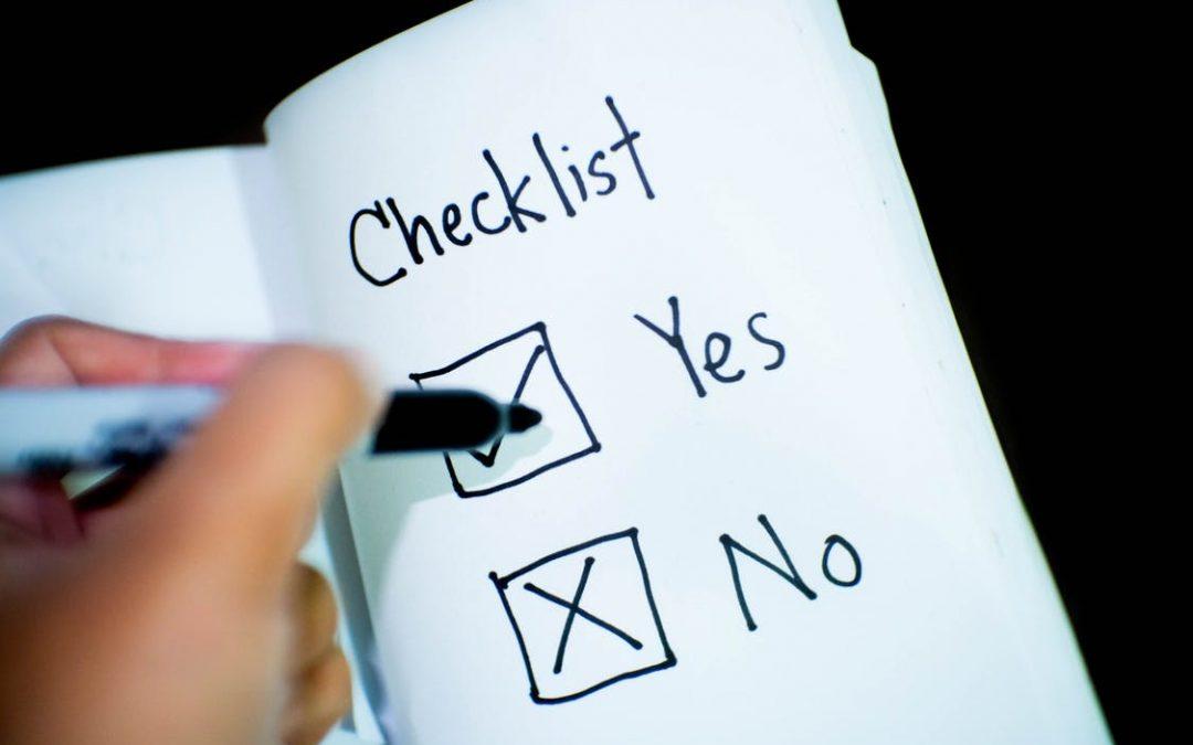Checklist beëindigingsovereenkomst